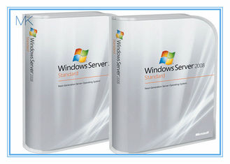 چین Microsoft Windows Server 2008 Versions Standard includes 5 clients English Activation Online تامین کننده