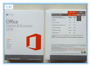 Genuine Microsoft Home And Business 2016  Version COA / Key / License English