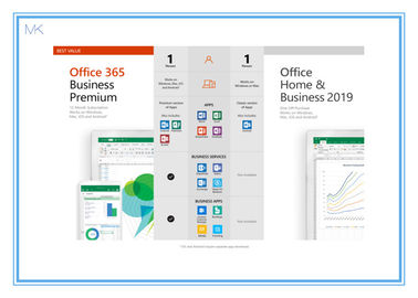 فعال سازی آنلاین Microsoft Office 2019 Vision Home و Business Key Card انگلیسی