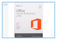 Microsoft Office 2016 Home And Business 1 User Pc Key Card English Language